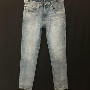 Gap Straight fit stretch Jeans Men's 36 x 34 NWOT
